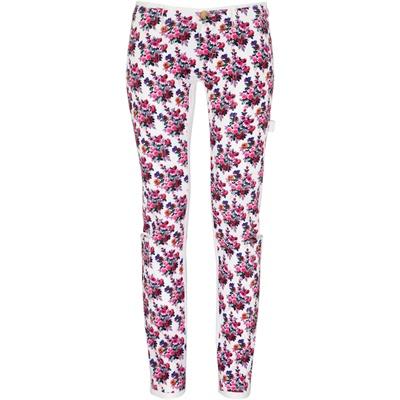 D & G skinny jeans a fiori