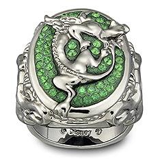 Swarovski anello di Angelica - Pirati dei Caraibi