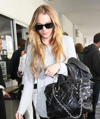 Lindsay Lohan + Chanel