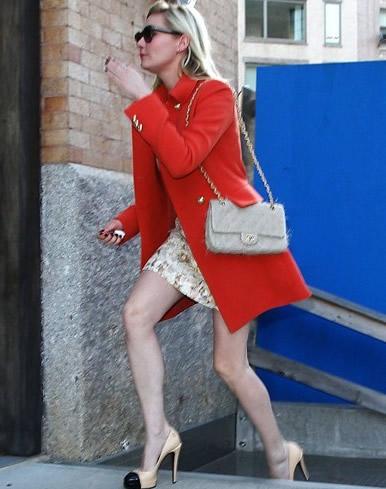 Kirsten Dunst + Chanel