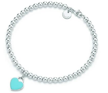 tiffany bracciale in argento con cuore