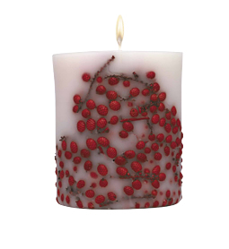 Idea Regalo di Natale: Acqua di Parma candela fiori frutti e bacche rosse