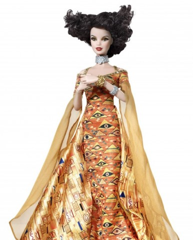 barbie gustav klimt