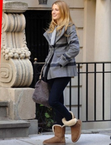 blake lively con ugg