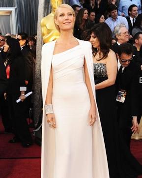 Gwyneth-Paltrow in Tom-Ford alla cerimonia degli Oscar