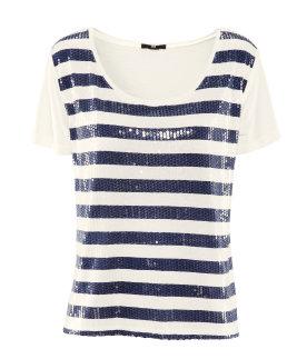 h&m t-shirt marine