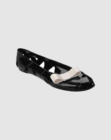Moschino ♥ Kartell ballerine in gomma