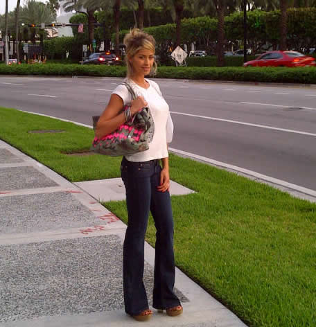 elena santarelli con mia bag