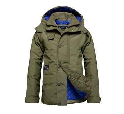 henry lloyd giacca con interno trapuntato