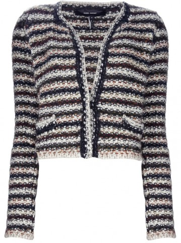 isabel marant giacca-cardigan