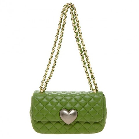 moschino borsa chanel verde