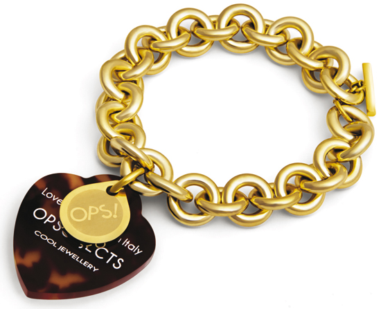 opslux braccialetto dorato