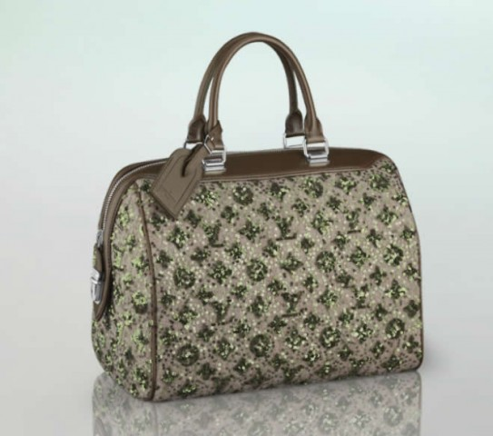vuitton speedy sunshine express kaki verde