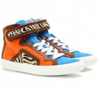 Pierre Hardy sneakers zebra + color block