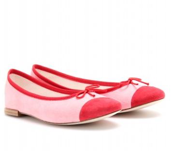 Repetto ballerine rosa bicolore