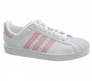 adidas superstar righe rosa